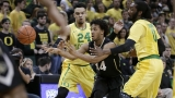 Cook leads No. 16 Oregon past Colorado 76-56