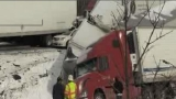 Multiple dead after massive pileup